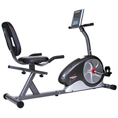 Body Flex Magnetic Recumbent Exercise Bike