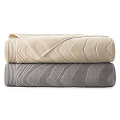 Liz Claiborne® Sculpted Cotton Bath Towels