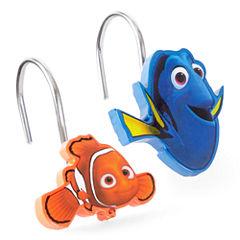 Disney® Finding Dory Lagoon Shower Curtain Hooks