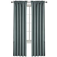 Eclipse® Corinne Rod-Pocket Blackout Curtain Panel