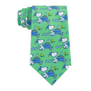 Peanuts Easter Snoopy With Cart Tie