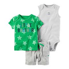 Carter's 3-pc. Bodysuit Set-Baby Boys