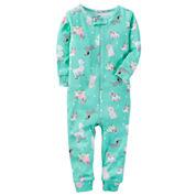 Carter's One Piece Pajama-Baby Girls