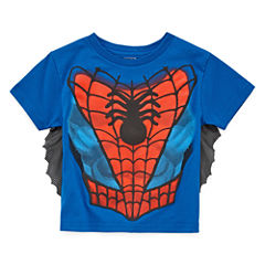 Spiderman Graphic T-Shirt-Toddler Boys