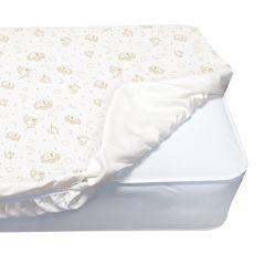Serta® Deluxe Organic Crib Mattress Pad
