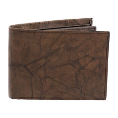 Stafford® Leather RFID Slim-Fold Wallet