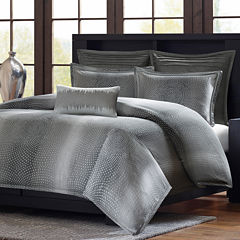 Madison Park Metropolitan Home Shagreen 3-pc. Duvet Cover Set and Accessories