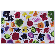 Better Trends Picasso Floral Bath Rug Collection