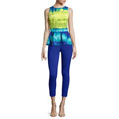 Worthington® Sleeveless Peplum Top or Slim-Fit Ankle Pants