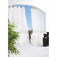 Cote D'Azure Grommet-Top Outdoor Curtain Panel