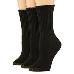 GoldToe® 3-pk. Ultra Tec Crew Socks