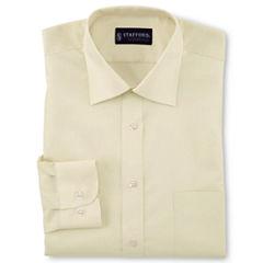 Stafford® Travel Easy-Care Broadcloth Dress Shirt–Big & Tall