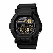 Casio Mens Black Strap Watch-Gd350-1