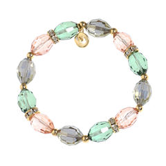 Gloria Vanderbilt Womens Multi Color Stretch Bracelet