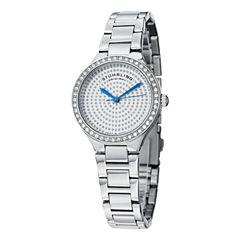 Stuhrling Womens Silver Tone Bracelet Watch-Sp14920