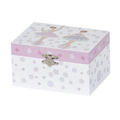 Mele & Co. Girls Musical Ballerina Jewelry Box