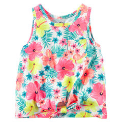 Carter's Front-Tie Tank Top - Preschool Girls