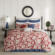 Madison Park Georgia Floral 9-pc. Duvet Cover Set