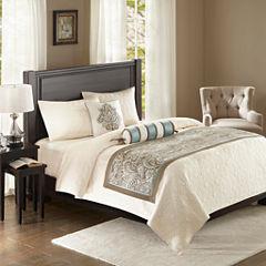 Madison Park Whitman 3-pc. Bedscarf Set
