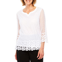 Alfred Dunner Tunic Top