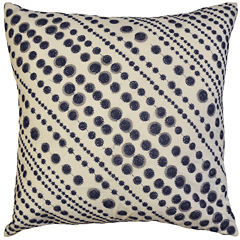 Idea Nuova Republic Blue Dot Decorative Pillow