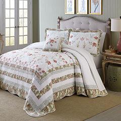 MaryJane's Home Wild Rose Bedspread & Accessories