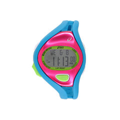Asics Blue/Pink Ar05 Runner Unisex Multicolor Strap Watch-Cqar0503y