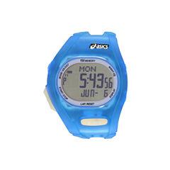 Asics Ar08 Night Run Unisex Blue Strap Watch-Cqar0806y