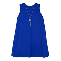 by&by girl Sleeveless Skater Dress - Big Kid Girls