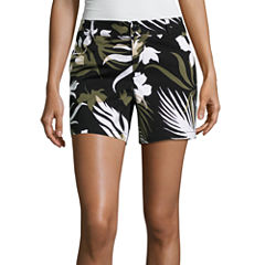 Liz Claiborne Knit Chino Shorts
