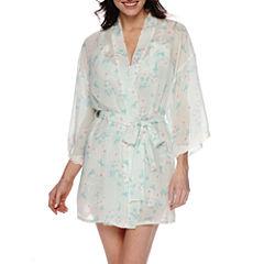 Flora Chiffon Kimono Robe