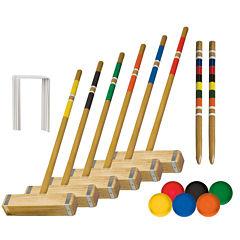 Franklin Sports 6-Player Croquet Set
