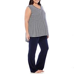 Spencer Maternity Nursing Pajama Set - Plus