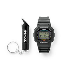 Casio G-Shock Mens Black Strap Watch-Dw5600e-1f