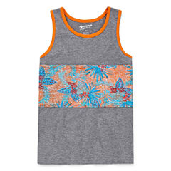 Arizona Boys Pieced Tank Top - Preschool 4-7