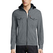 Levi's® Hooded Soft Shell Trucker Jacket