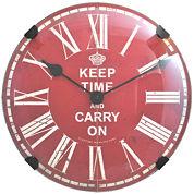 FirsTime® Keep Time Wall Clock