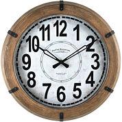FirsTime® Modern Rustic Wall Clock