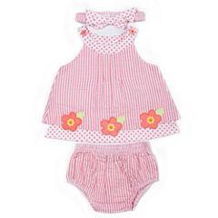 Little Lass Gw 3-pc. Layette Set-Baby Girls