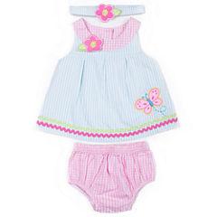 Little Lass Gw 3-pc. Layette Set-Baby Girls