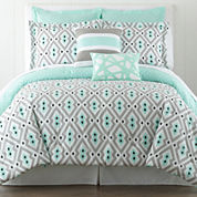Happy Chic by Jonathan Adler Nina 3-pc. Reversible Comforter Set and Accessories