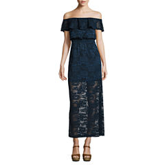 Love Reigns Sleeveless Maxi Dress-Juniors