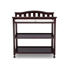 Delta Children Bell Top 2-Drawer 2-Shelf Changing Table