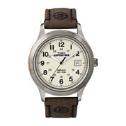 Timex® Expedition® Newness Mens Leather Strap Field Watch T49870