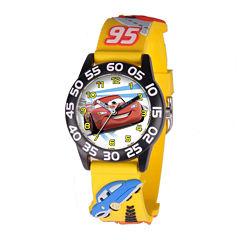 Disney Cars Easy-Read Plastic Strap Watch