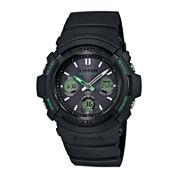 Casio® G-Shock Tough Solar Mens Black Resin Strap Sport Watch AWGM100F-1CCR