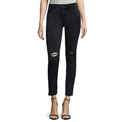 Decree® Destructed Skinny Jeans
