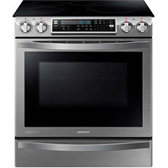 Samsung 5.8 Cu. Ft. Chef Collection Slide-In Induction Range with Flex Duo™  Oven