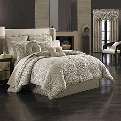 Queen Street® Antonia 4-pc. Jacquard Comforter Set