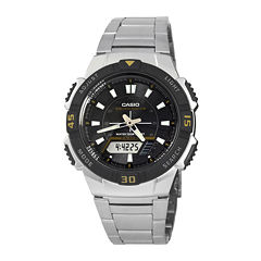 Casio® Mens Analog-Digital Solar Watch AQ-S800WD-1EV